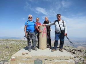En la cumbre del Moncayo