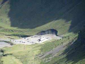 Cara norte del túnel de Bielsa