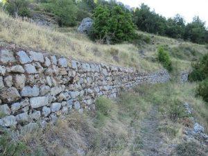 Camino entre Santorens y El Pont de Suert