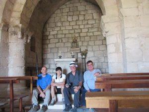Interior de la ermita de Vilet