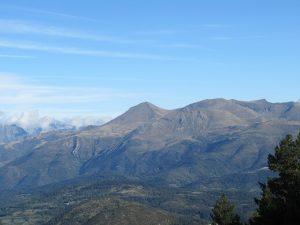 El pico Perdiguero desde Las Aras
