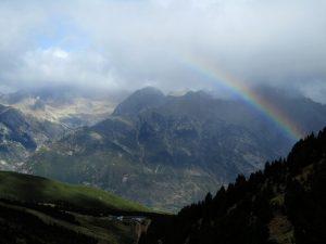 Arco Iris sobre el Valle de Benasque