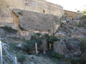 Almonacid de la Cuba. Presa romana