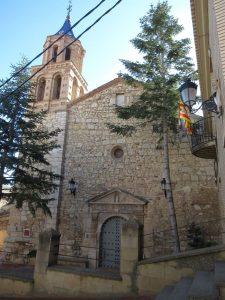 Almonacid de la Cuba. Santa María