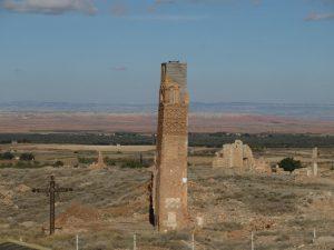 Belchite. Torre del reloj