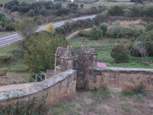 Siétamo. Torre en lo que fue el castillo del Conde de Aranda