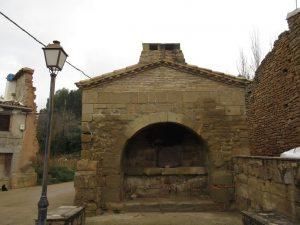 La Almunia del Romeral. Horno comunal