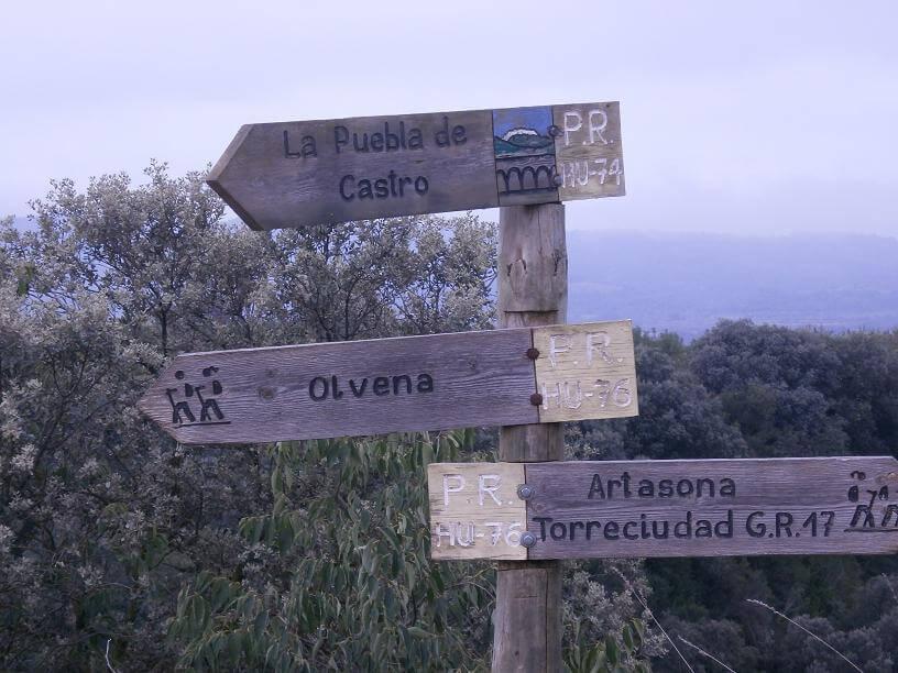 Ruta circular por la sierra de Ubiergo