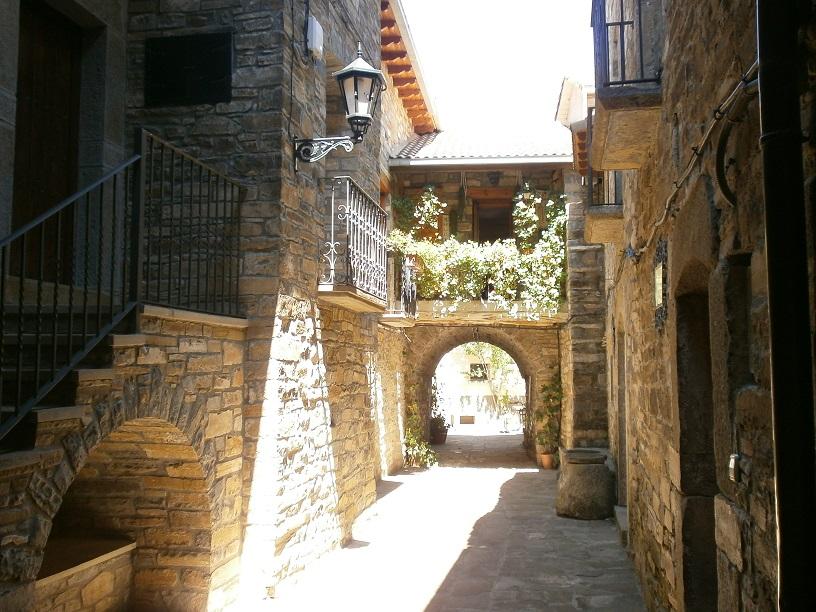 Ruta entre Laspuña y L'Ainsa