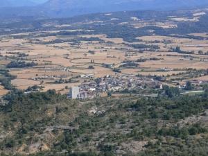 Capella. Desde la ermita de San Martín