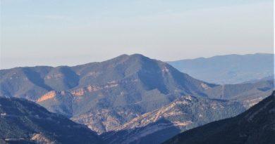 Ruta de ascensión al Pico Campanué