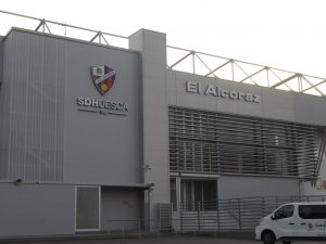 Huesca. Estadio El Alcoraz