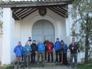 Ermita de San Jorge. Preparando la partida
