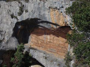 Abrigo rupestre de Mallata