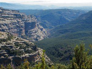 Barranco y valle de Isarre