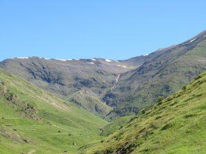 Valle de Castanesa. Antigua cubeta glaciar