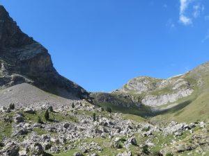 Pedrera bajo el Pico Comodoto