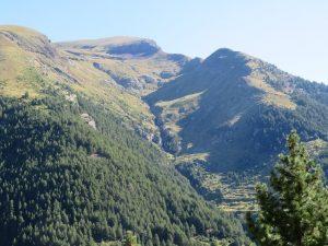 Barranco en Sierra Liena