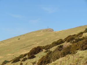 Plano inclinado ladera sur de Oroel