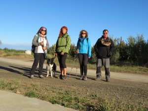 El 4-oct-2020, repetimos el recorrido, pero con distintos participantes. En la ermita de San Roque