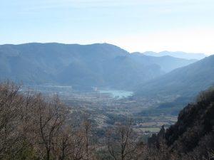 Pantano de Arguis y Pico del Águila