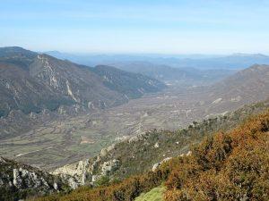 Valle de Rasal desde el Peiró