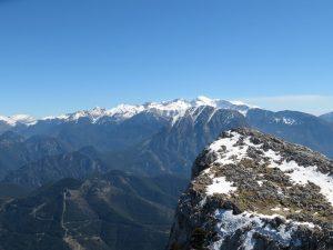 Cordal de separación valles del Bielsa y Chistau