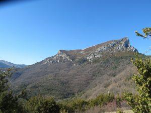 Castillo Mayor, visto desde Puértolas