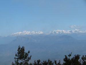 Cordal pirenaico nevado