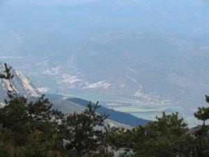 Valle de Rasal desde el Puchilibro