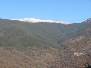 Sierra de Ballabriga. El Turbón al fondo
