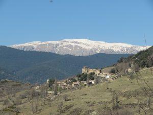 Calvera y El Turbón, desde Castrocit