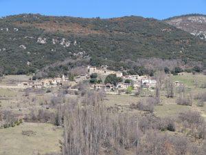 Calvera, camino de Morens