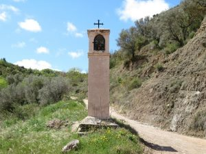 Aguinaliu. Pilaret de San Antonio de Padua