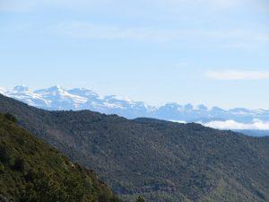 El nevado Monte Perdido al fondo