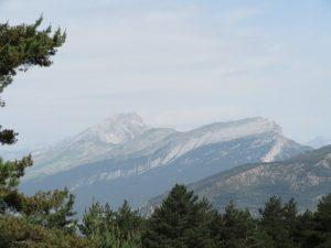 Macizo de Monte Perdido, de perfil