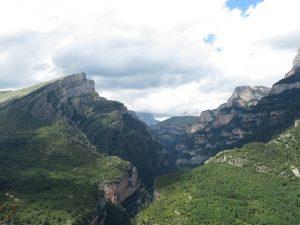Pico Mondoto. Cañón de Añisclo