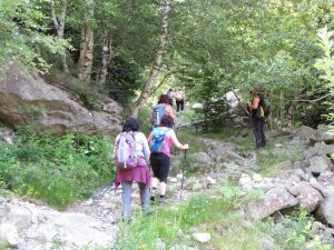 Subiendo al estany de Besiberri