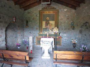 Laspaúles. Ermita San Roc (interior)