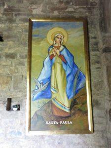 Ermita de la Virgen de Turbiné. Santa Paula