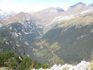 Valle de Chisagües, desde El Cuezo